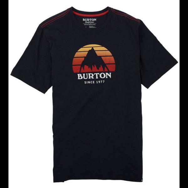 fekete Burton póló színes berton mintával