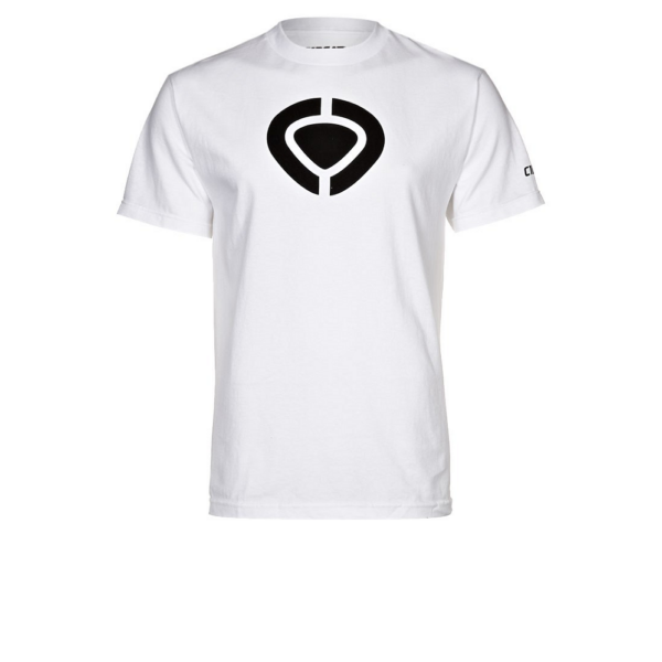 CIRCA Icon fehér póló fekete C1rca logóval