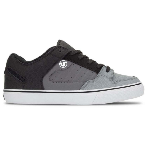 DVS Militia CT  #  Black / Charcoal grey leather