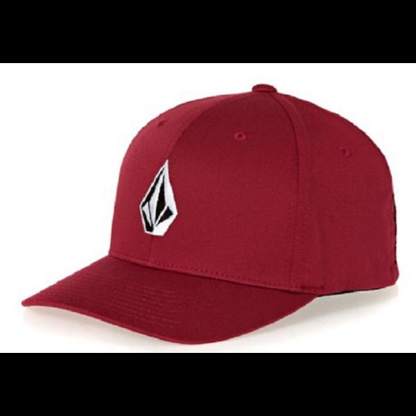 bordó Volcom baseball sapka kis fehér volcom logóval d178636a5c