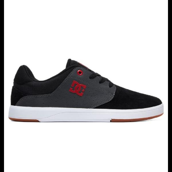 DC Plaza TC S  #  Black / Dk grey / athletic red