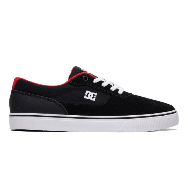 DC Switch S  #  Black / Athletic red