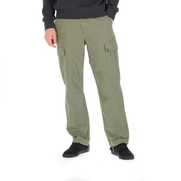 element zöld oldalzsebes vászon nadrág