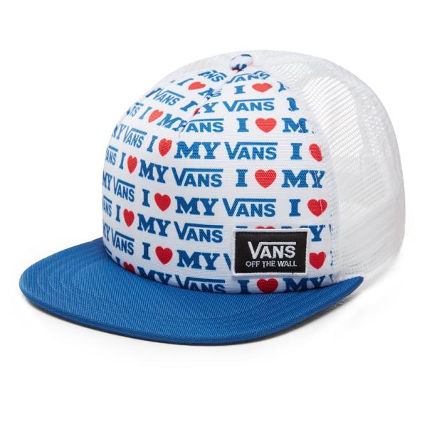 VANS Beach Bound Trucker  #  True white / Vans love