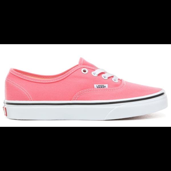 VANS Authentic  #  Strawberry pink / True white