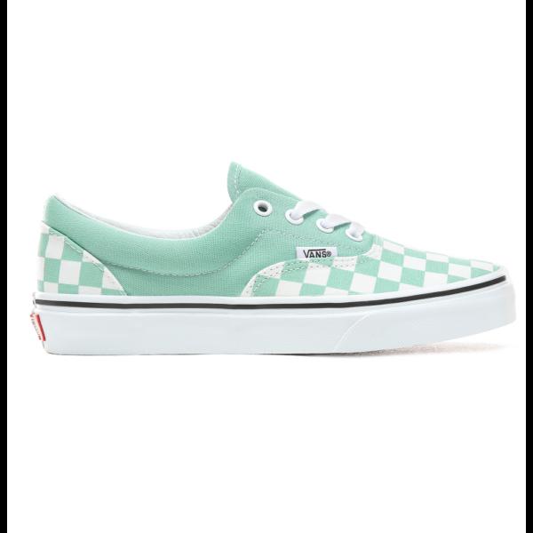 VOLCOM Super CleVANS Era (Checkerboard)  #  Neptun green / True white