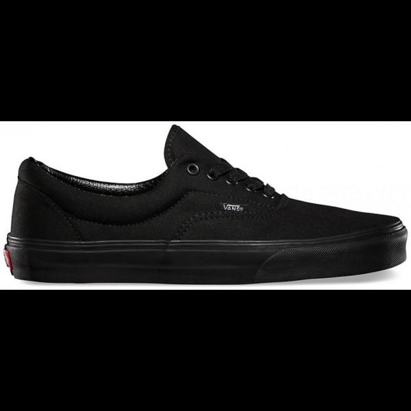 VANS Era  #  Black / Black vászoncipő