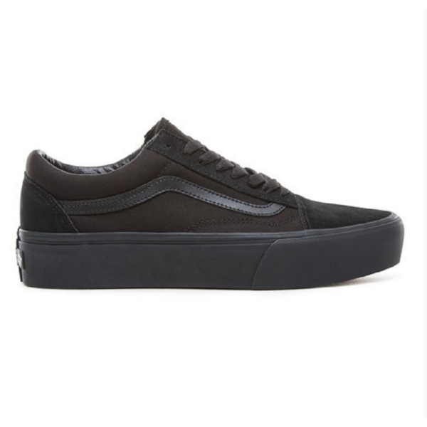VANS Old Skool Platform black-black