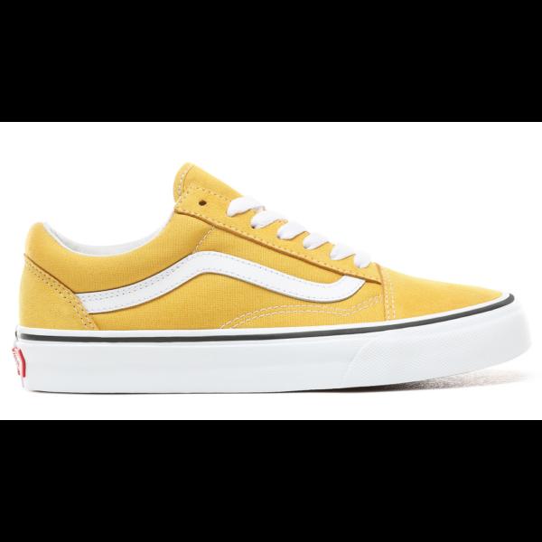 VANS Old Skool  #  Yolk yellow  / True white