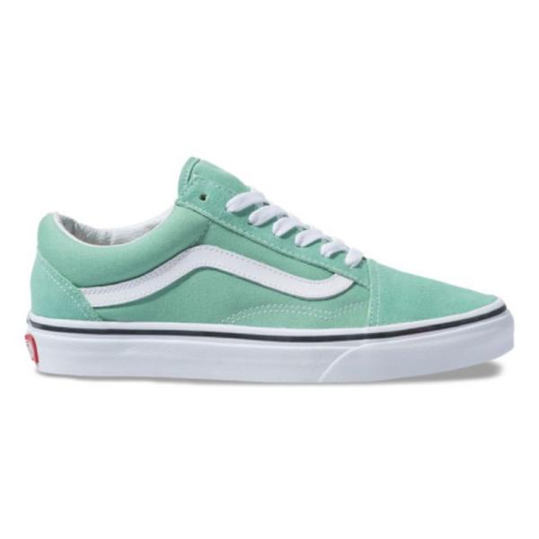 VANS Old Skool  Neptun green / True white