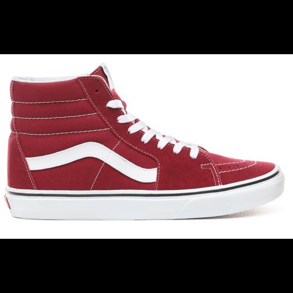 VANS SK8-HI  #  Rumba red / True white