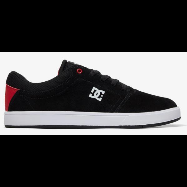 DC Crisis - Black / Red / White gördeszkás cipő