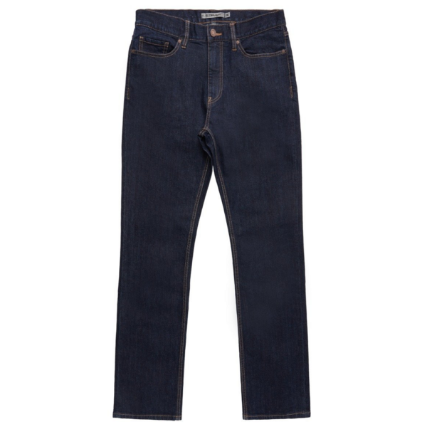 DC Worker Straight Fit  Indigo rinse farmer,