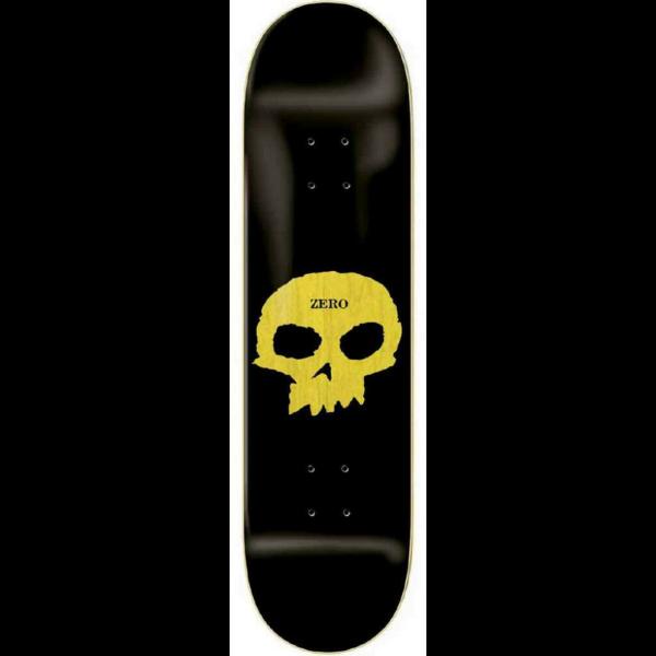 ZERO Single Skull Knockout HYB - Black 825 gördeszka lap