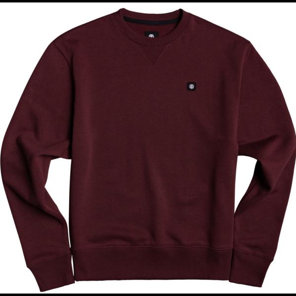 ELEMENT 92 CR - Vintage red környakas pulóver