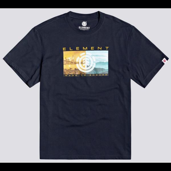 ELEMENT Sentinel Eclipse navy póló