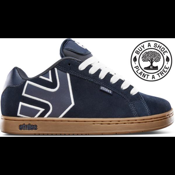 ETNIES Fader - Navy / Gum / White gördeszkás cipő