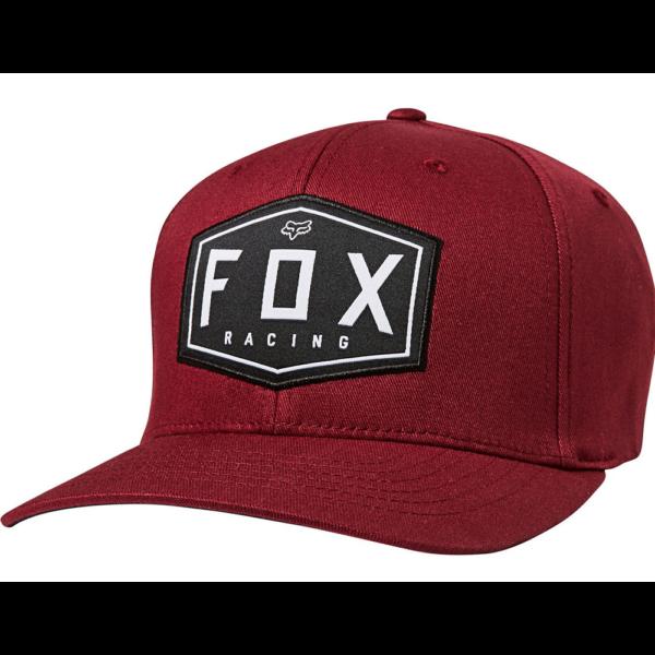 FOX Crest Flexfit  Cranberry