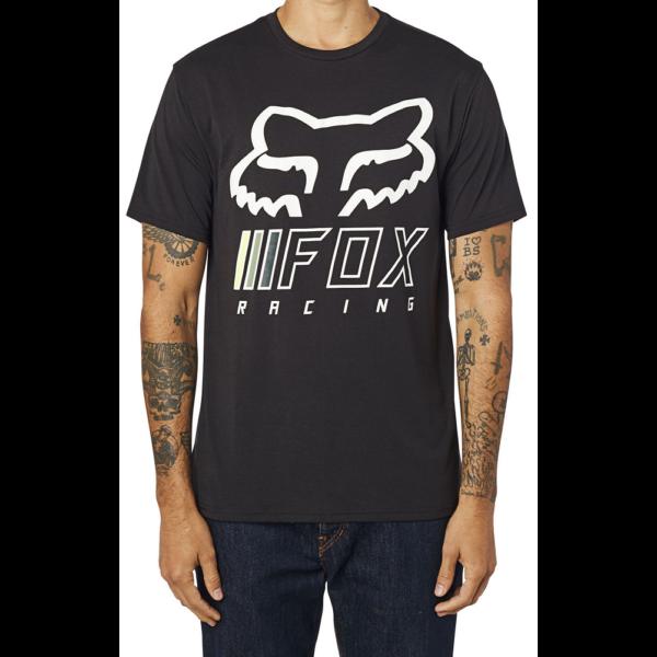 FOX Overhaul Tech Black / Green technikai póló