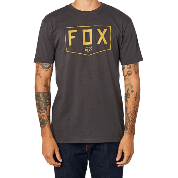 FOX Shield Premium - Black / Gold póló