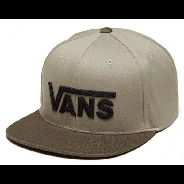 VANS Drop V II Snapback - rape leaf  / Vetiver #  Trekking green / Khaki