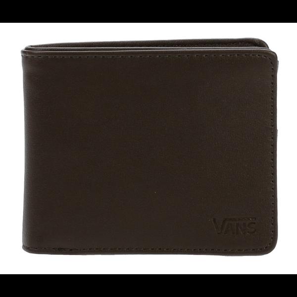 VANS Drop V Bifold - Dark brown pénztárca