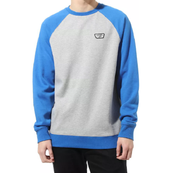 VANS Rutland lll - Cement heather / Victoria blue környakas pulóver