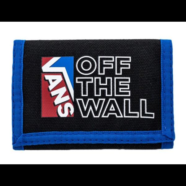 VANS Slipped - Victoria blue / Black pénztárca