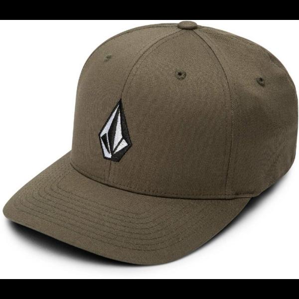 VOLCOM Full Stone Flexfit -Covert green baseball sapka
