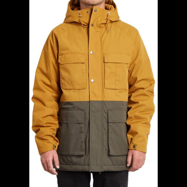 VOLCOM Renton Winter 5K Jacket  Golden brown télikabát