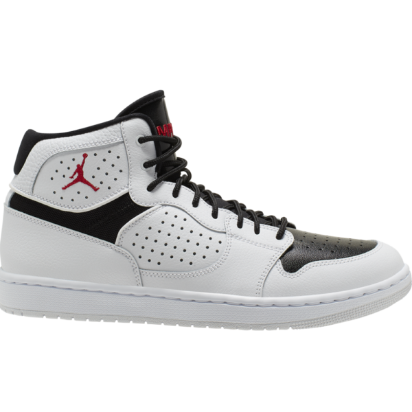 JORDAN Access  #  White / Gym red - Black