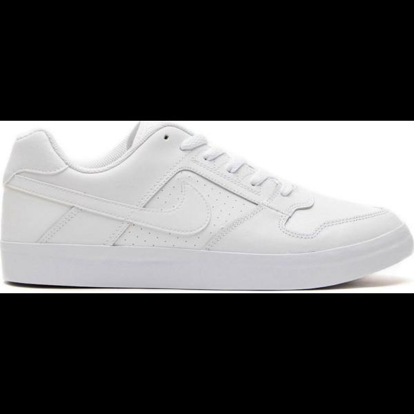 Nike SB Delta Force vulc fehér gördeszkás bőr cipő fehér nike pipával