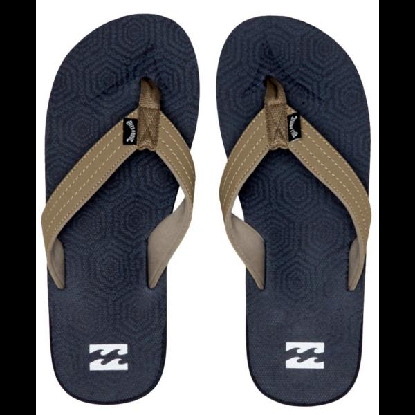 BILLABONG All Day Theme Blue Flip-Flop papucs