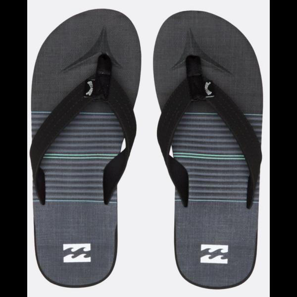 BILLABONG All Day Theme Charcoal Flip-Flop papucs