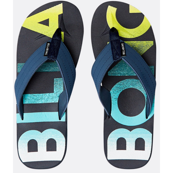 BILLABONG All Day Theme Navy Flip-Flop papucs