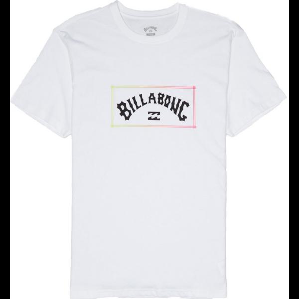 BILLABONG Arch White póló