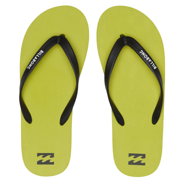 BILLABONG Tides Solid Lime flip-flop papucs