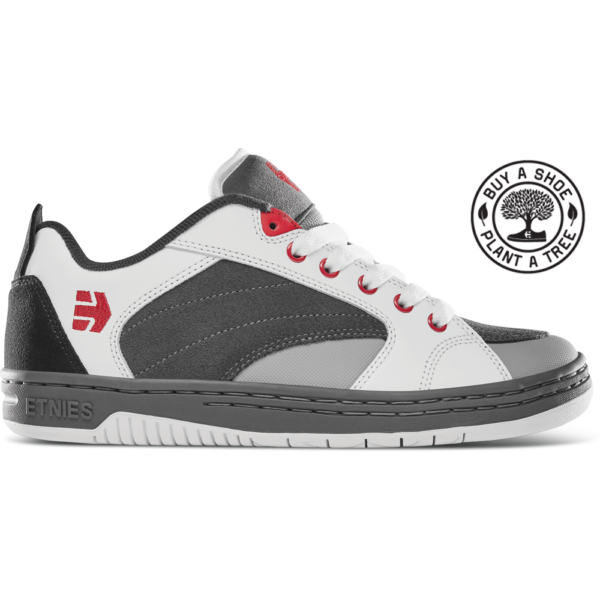 ETNIES Czar  #  Grey / White / Red gördeszkás cipő