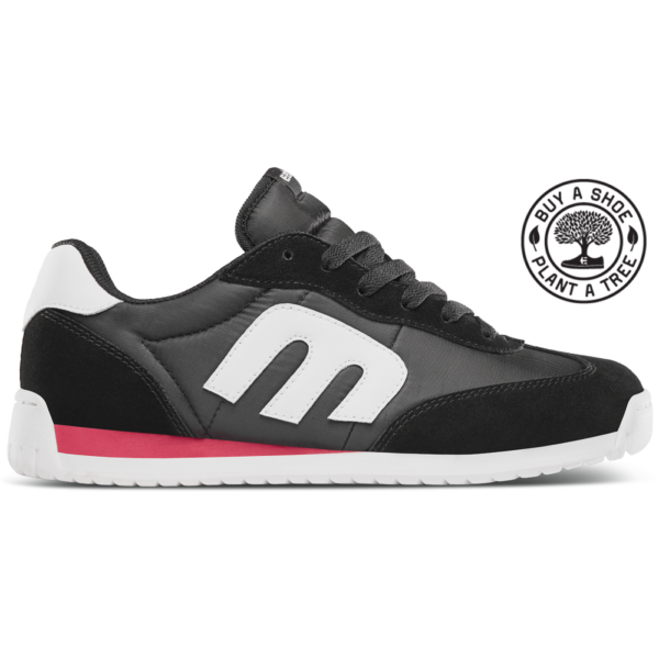 ETNIES LO-CUT CB  #  Black / Red / White cipő
