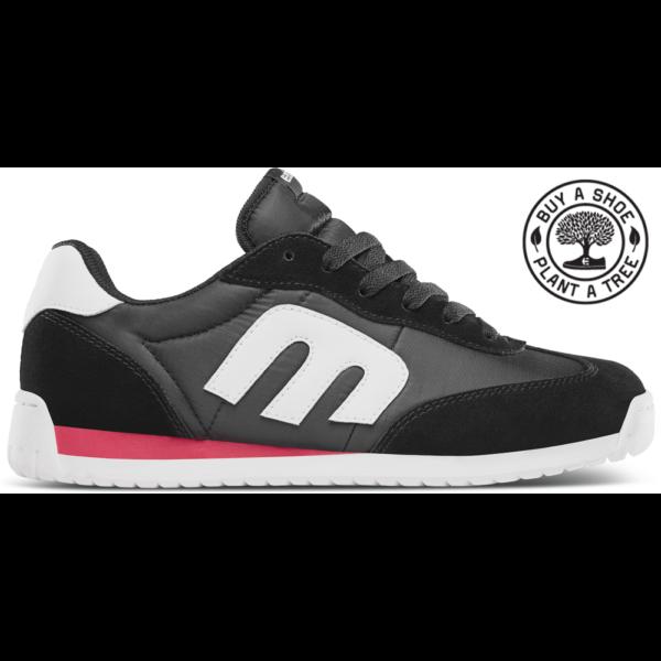 ETNIES LO-CUT CB  #  Black / Red / White cipő