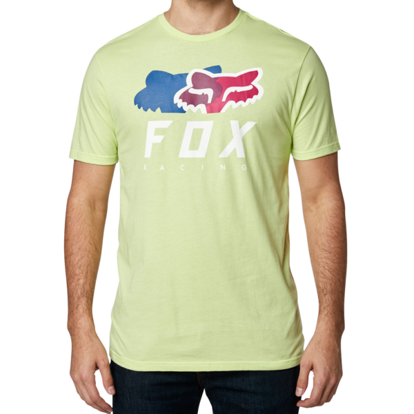 FOX Chromatic Premium  # Lime póló