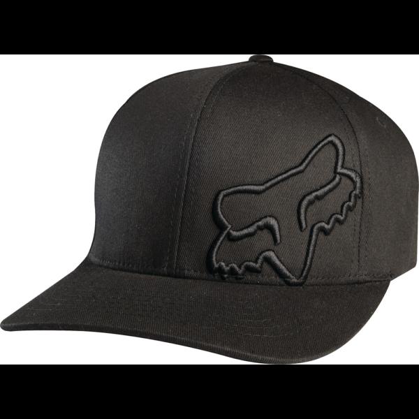 fekete flexfit Fox baseball sapka nagy fekete fox logóval