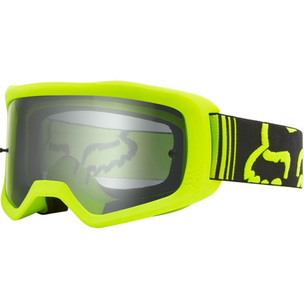 FOX Main Race - Fluo Yellow védőszemüveg