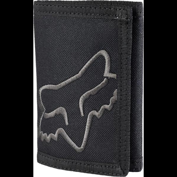 FOX Mr. Clean Velcro  #  Black vászon pénztárca