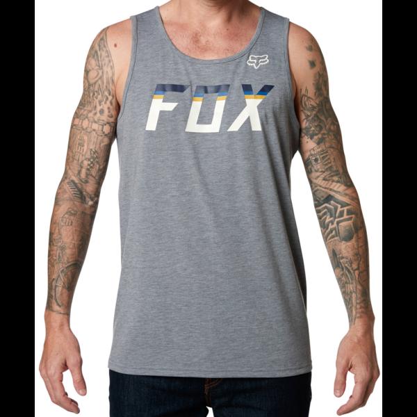 FOX On Deck Tech Tank  #  Heather graphite trikó