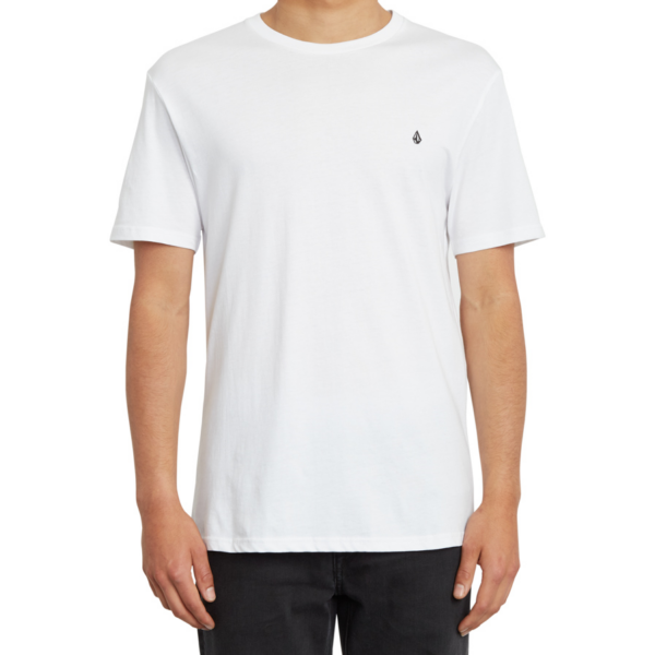 VOLCOM Stone Blank BSC fehér póló kis hímzett Volcom logóval
