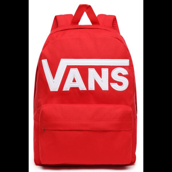 VANS Old Skool III - Racing red hátizsák