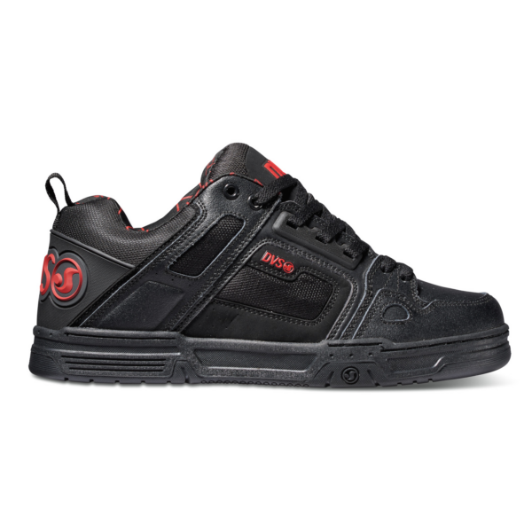 DVS Comanche - Black / Red / Black Deegan