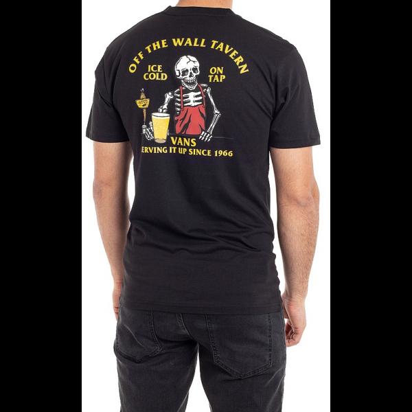 VANS Off The Wall Tave - Black póló