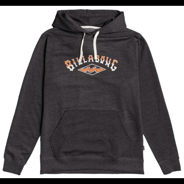 BILLABONG Arch PO- Black kapucnis pulóver